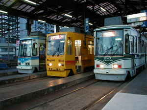 市電(路面電車)・鉄道・汽車・列車